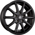 BROCK / RC RC32 Satin Black Matt (SBM) Einteilig 7.50 x 17 ET 46.00 5 x 100.00