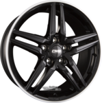 CMS C29 Diamond Black Gloss (DB) Einteilig 7.50 x 17 ET 40.00 5 x 112.00