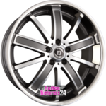DIEWE WHEELS SOGNO PLATIN MACHINED - Platin Matt Einteilig 9.00 x 20 ET 37.00 5 x 120.00