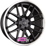 EMOTION-WHEELS CONCAVE Black Matt Inox Einteilig 8.50 x 19 ET 35.00 5 x 112.00