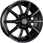 ProLine Wheels  CX100 Black Matt (BM) Einteilig 7.00 x 16 ET 45.00 5 x 108.00