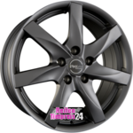 ProLine Wheels  BX100 Matt Grey (MG) Einteilig 5.50 x 14 ET 40.00 5 x 100.00