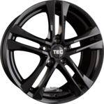 TEC SPEEDWHEELS AS4 EVO Einteilig Schwarz Glanz (BG) 8.00 x 18 ET 40.00 5x110.00