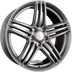 WHEELWORLD WH12 Arkticsilber (AS) Einteilig 8.00 x 19 ET 45.00 5 x 114.30
