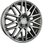 Z Design Wheels Z001 Grey Lip Polished Einteilig 8.50 x 19 ET 35.00 5 x 120.00