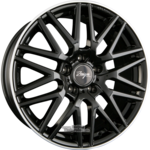 Z Design Wheels Z001 Black Lip Polished Einteilig 8.50 x 19 ET 35.00 5 x 120.00