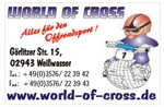 World-of-Cross alles für den Offroadsport